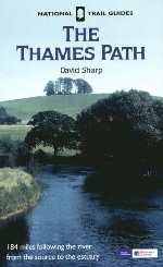Picture of David Sharp's book, The Thames Path