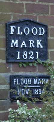 picture of flood level signs